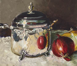 Cheryl Ambretch Still life oil paintings